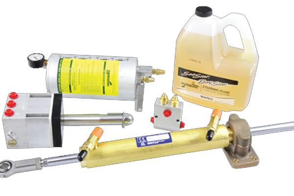 Hynautic steering system