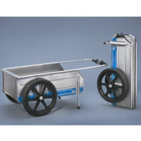 Fold-It Folding Aluminum Dock Cart