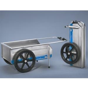 Fold-It Folding Aluminum Dock Cart