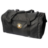 Large Embroidered Captain's Duffle Bag