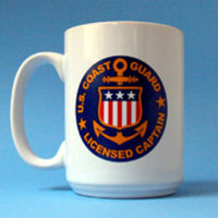USCG Licensed Captain's Mug