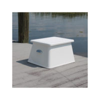 Heavy Water 12-3/4 inch Deluxe Step Box with Storage
