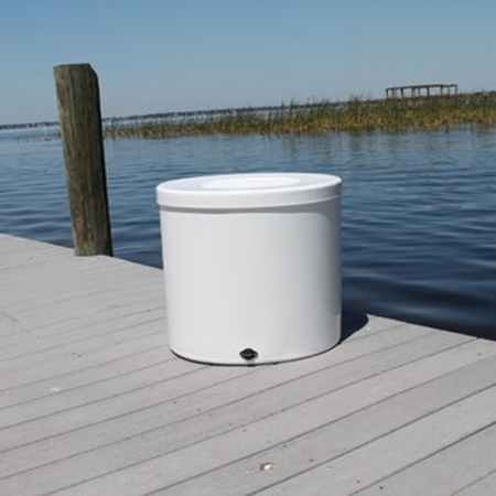 Fiberglass live wells round boaters catalogboaters catalog for Fiberglass well house