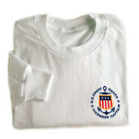Long Sleeved Licensed Captain Tee Shirt