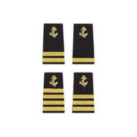 Anchor Epaulet, soft shoulder boards