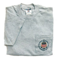Licensed Captain Tee Shirt with Pocket