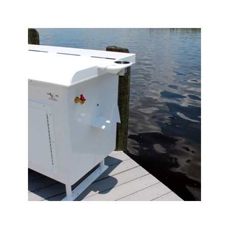 Captain charlie 39 s fish cleaning station options boaters for Dock fish cleaning station
