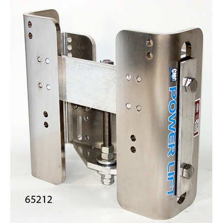 CMC Stainless Steel Rails Manual Jack Plate 5-1/2 inch setback