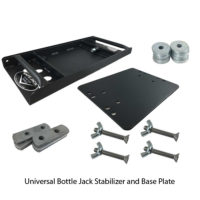 Universal Bottle Jack Stabilizer and Base Plate