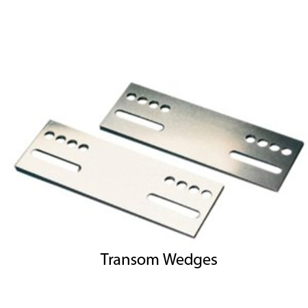 Transom Wedges