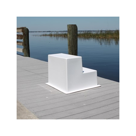 Two Step Fiberglass Boarding Stairs - Boaters ...