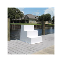 Three Step Fiberglass Boarding Stairs