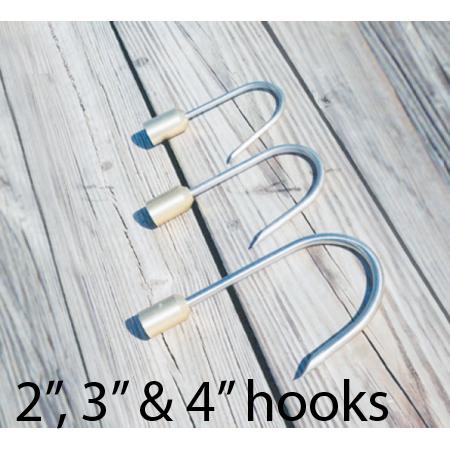 """2"""" 3"""", & 4"""" hooks for Carolina Gaffs"""