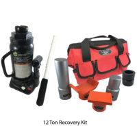 Bottle Jack Recovery Kit With 12 Ton Bottle Jack