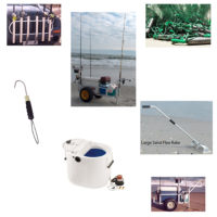 Beach Fishing Accessories and Carts