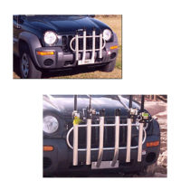 Truck Mounted Rod Racks