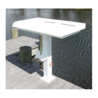 Captain Charlie's Heavy Water Pedestal Fish Cleaning Table