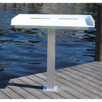Economy Pedestal Mount Fish Cleaning Table