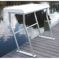 Economy Four Leg Fish Cleaning Table