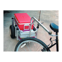 Fishing Cart Bicycle Hitch
