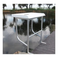 Economy Two Leg Fish Cleaning Table