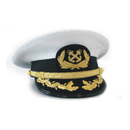 Officer's Hat With Deluxe Visor